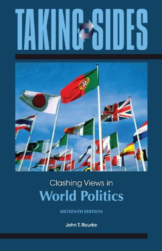 Clashing Views in World Politics:   2013 edition cover