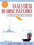 Analytical Reading Inventory Comprehensive Standards-Based Assessment for All Students Including Gifted and Remedial 10th 2015 edition cover