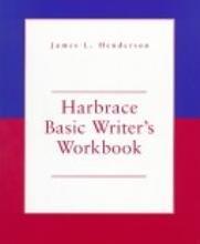 Harbrace Basic Writer's Workbook 1st 1998 (Workbook) edition cover