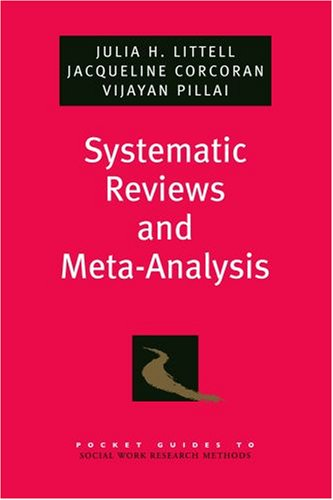 Systematic Reviews and Meta-Analysis   2008 edition cover