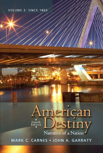 American Destiny Narrative of a Nation 4th 2012 edition cover
