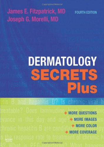 Dermatology Secrets Plus  4th 2011 edition cover