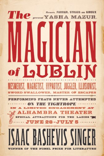 Magician of Lublin   2010 9780374532543 Front Cover