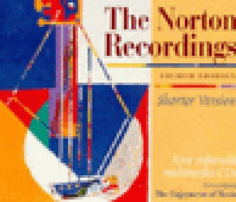 Norton Recordings to Accompany the Norton Scores and the Enjoyment of Music : Shorter Version 8th 1999 edition cover