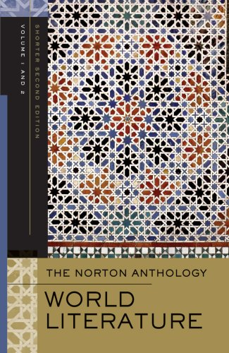 Norton Anthology of World Literature  2nd 2009 edition cover