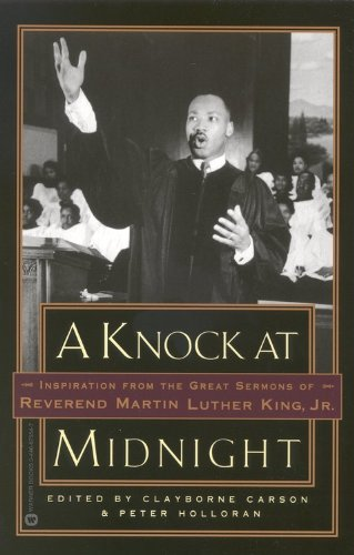 Knock at Midnight Inspiration from the Great Sermons of Reverend Martin Luther King, Jr Reprint  9780446675543 Front Cover