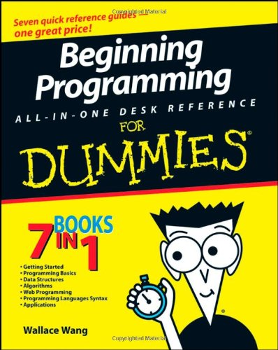 Beginning Programming All-in-One Desk Reference for Dummies�   2008 edition cover