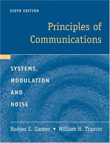 Principles of Communications  6th 2009 edition cover