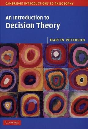 Introduction to Decision Theory   2009 edition cover