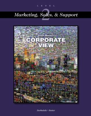 Corporate View Marketing, Sales, and Support  2001 9780538691543 Front Cover