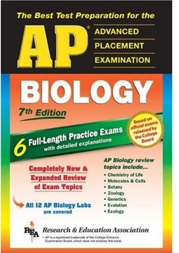AP Biology  7th 2005 (Revised) edition cover