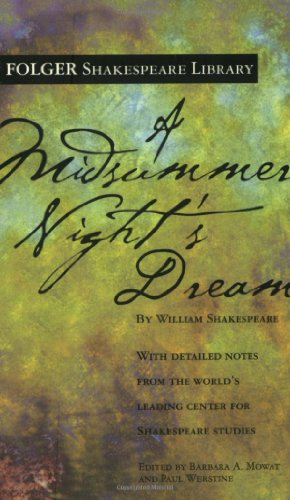 Midsummer Night's Dream   1993 9780743477543 Front Cover