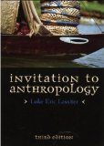 Invitation to Anthropology  4th (Revised) edition cover
