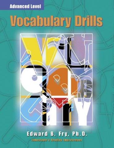 Vocabulary Drills   2000 edition cover