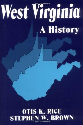 West Virginia A History 2nd 1993 edition cover