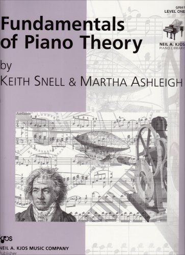 Fundamentals of Piano Theory Level 1  1998 edition cover