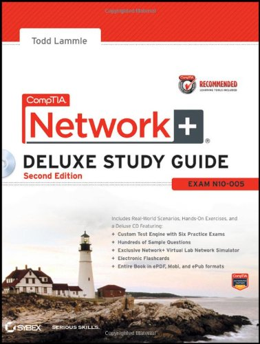 CompTIA Network+ Exam - N10-005 2nd 2012 edition cover