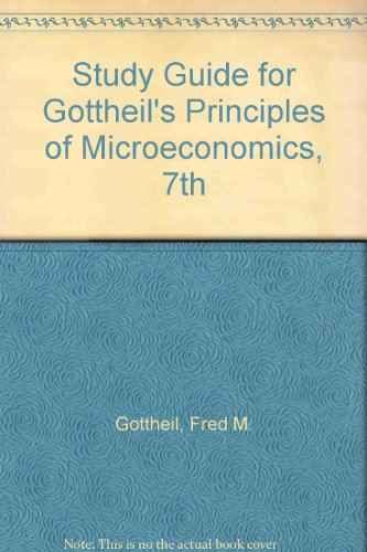 Principles of Microeconomics  7th 2014 9781285064543 Front Cover