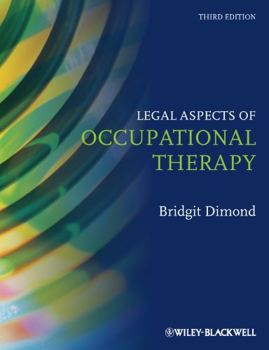 Legal Aspects of Occupational Therapy  3rd 2010 9781405196543 Front Cover