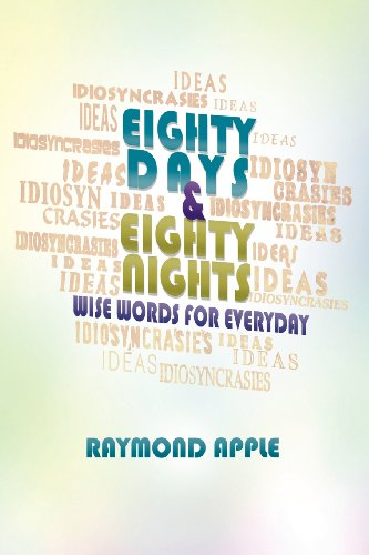 Eighty Days and Eighty Nights: Wise Words for Everyday  2012 edition cover