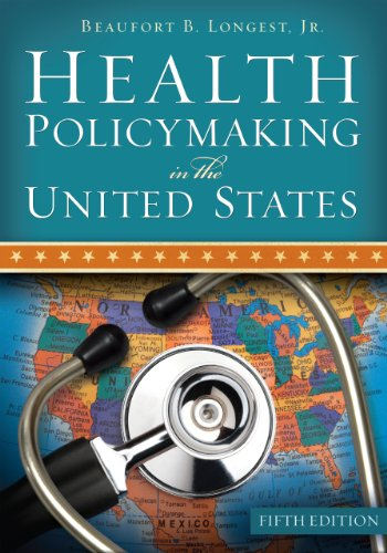 Health Policymaking in the United States  5th 2009 edition cover
