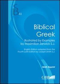 Biblical Greek  10th edition cover