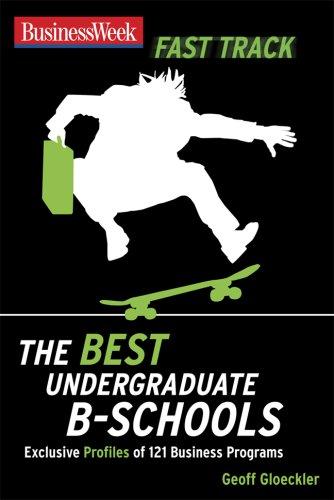 Best Undergraduate B-Schools   2008 9780071496544 Front Cover