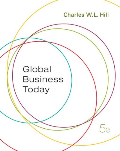 Global Business Today  5th 2008 (Revised) edition cover