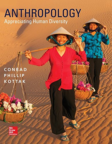 Anthropology Appreciating Human Diversity 16th 2015 edition cover