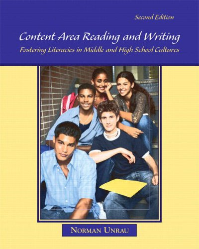 Content Area Reading and Writing Fostering Literacies in Middle and High School Cultures 2nd 2008 edition cover