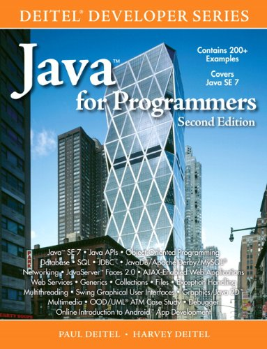 Java for Programmers  2nd 2011 (Revised) edition cover
