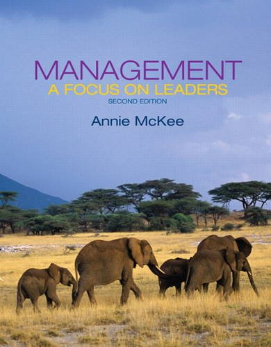 Management A Focus on Leaders 2nd 2014 edition cover