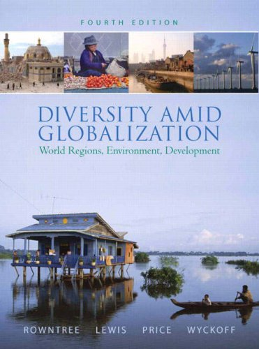 Diversity amid Globalization World Regions, Environment, Development 4th 2009 edition cover
