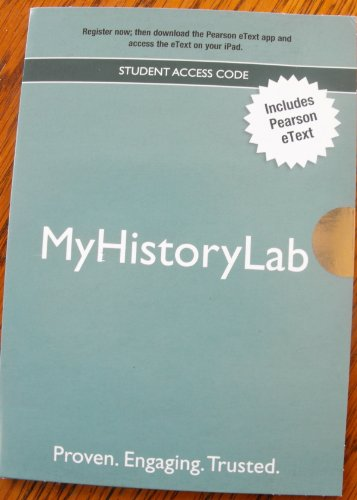 MyHistoryLab   2012 (Revised) edition cover