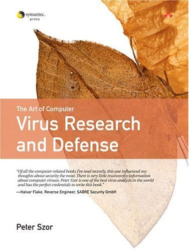 Art of Computer Virus Research and Defense   2005 edition cover