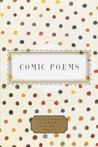 Comic Poems   2001 9780375413544 Front Cover