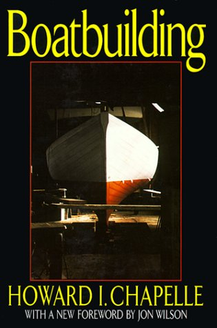 Boatbuilding A Complete Handbook of Wooden Boat Construction  1994 edition cover