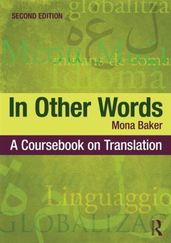 In Other Words A Coursebook on Translation 2nd 2011 (Revised) edition cover