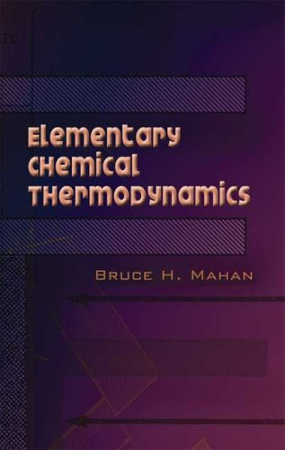 Elementary Chemical Thermodynamics   2006 9780486450544 Front Cover