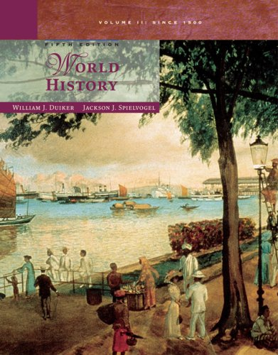 World History, Volume II From 1500 5th 2007 edition cover