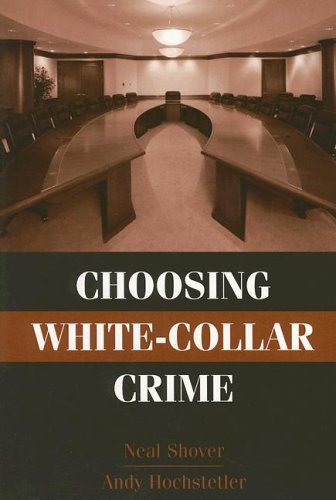 Choosing White-Collar Crime   2005 edition cover