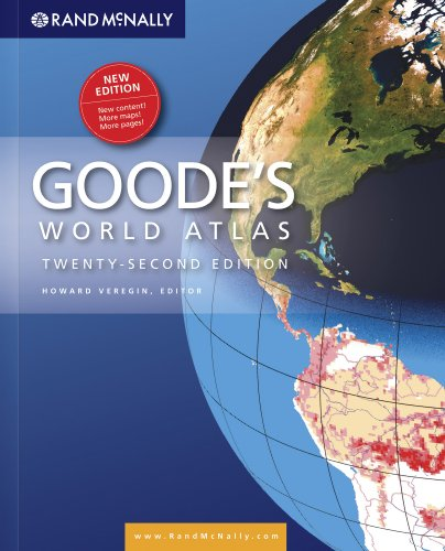 Rand Mcnally Goode's World Atlas 22nd 2009 (Revised) edition cover