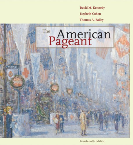 American Pageant A History of the Republic 14th 2010 9780547166544 Front Cover