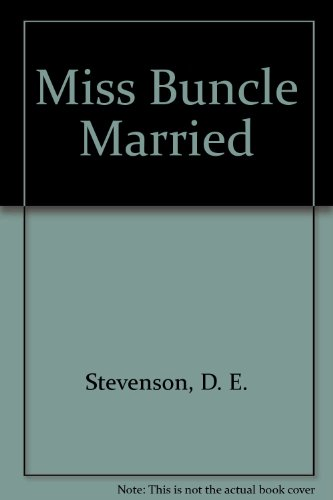 Miss Buncle Married  Large Type 9780753185544 Front Cover