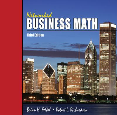 Networked Business Math  3rd (Revised) edition cover