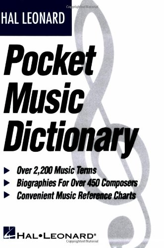 Pocket Music Dictionary   1993 edition cover