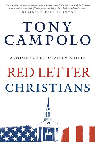 Red Letter Christians A Citizen's Guide to Faith and Politics N/A edition cover