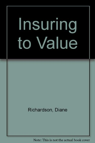 Insuring to Value  1996 9780872183544 Front Cover