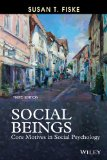 Social Beings Core Motives in Social Psychology 3rd 2014 edition cover