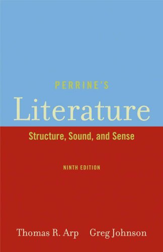 Perrine's Literature Structure, Sound, and Sense 9th 2006 (Revised) edition cover